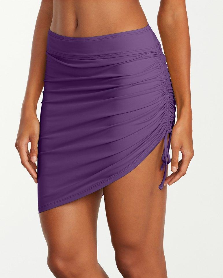 3ed0b13816 Pearl Side-Shirred Skirt