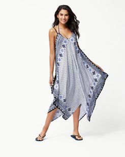 Tika Tiles Scarf Dress