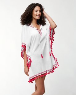 Crinkle Embroidered Tunic