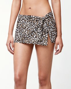 Cat's Meow Skirted Hipster Bikini Bottoms