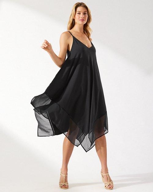 Cotton Modal Scarf Dress