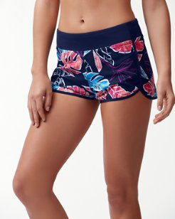 IslandActive® Graphic Tropics Hybrid Pull-On Shorts