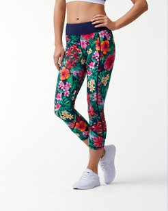 IslandActive® Jungle Canopy Cropped Leggings