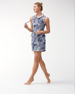 IslandActive™ Paisley Paradise Hooded Swim Dress