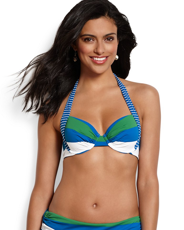 9727d46dd Main Image for Rugby   Notebook Stripe Underwire Bikini Top