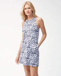 Riviera Tiles Swim Dress