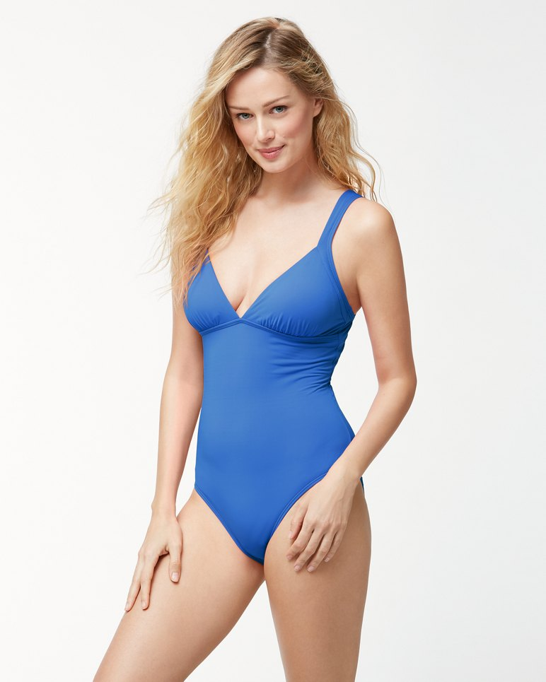 afffa13f698 Main Image for Pearl Over-The-Shoulder Crossback One-Piece Swimsuit