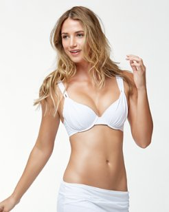 Pearl Underwire Over-The-Shoulder Bikini Top