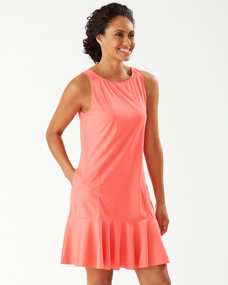 Main Image for Pearl High-Neck Flounce Dress