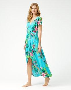 Fleur De Flora Wrap Dress