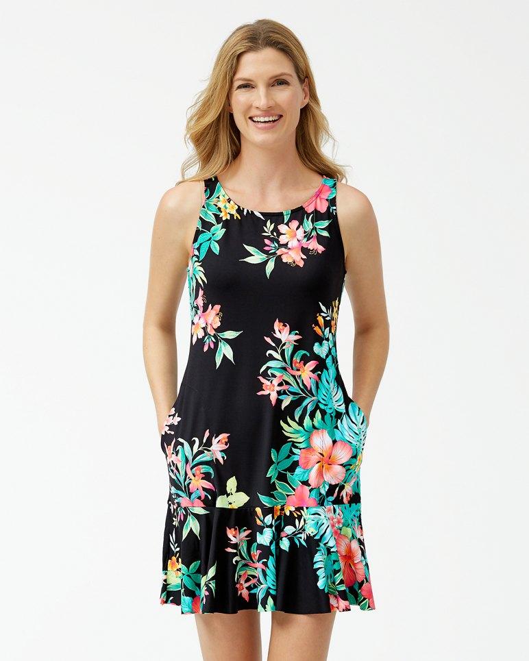 Main Image for Fleur De Flora High-Neck Flounce Dress