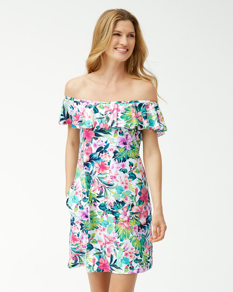 Main Image for Fleur De Flora Off-The-Shoulder Dress