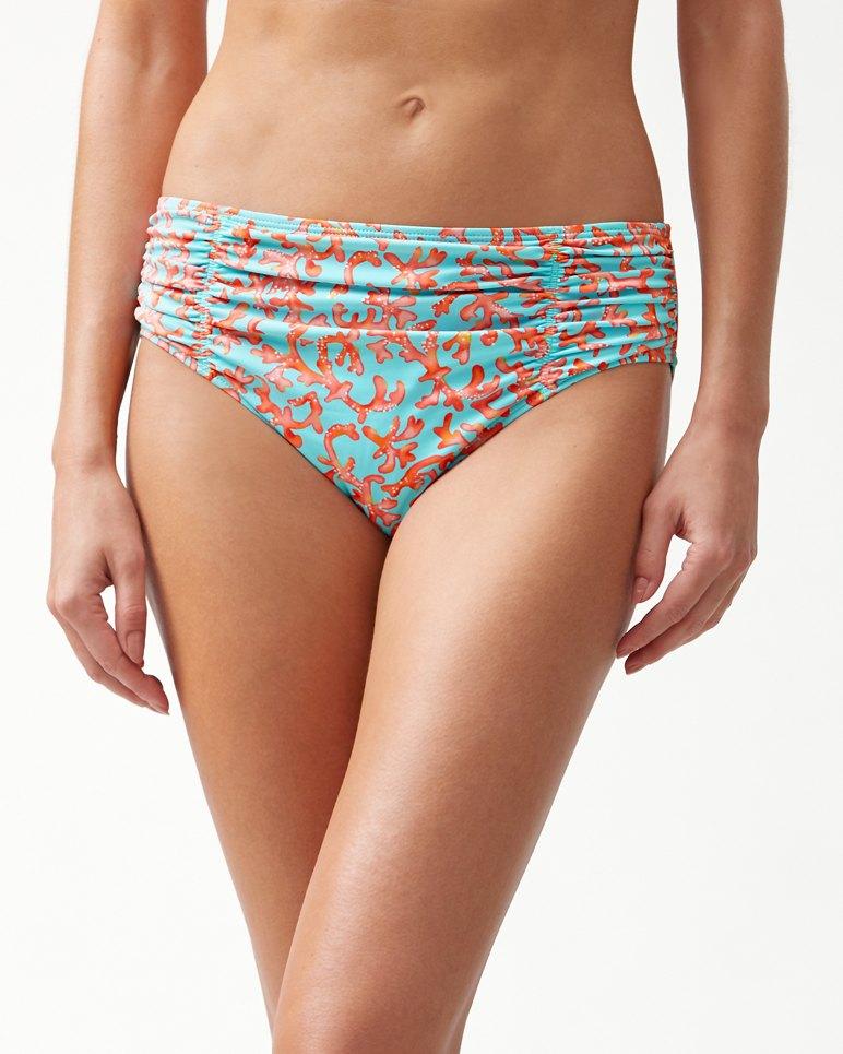 Main Image for Coral Cabana High-Waist Bikini Bottom
