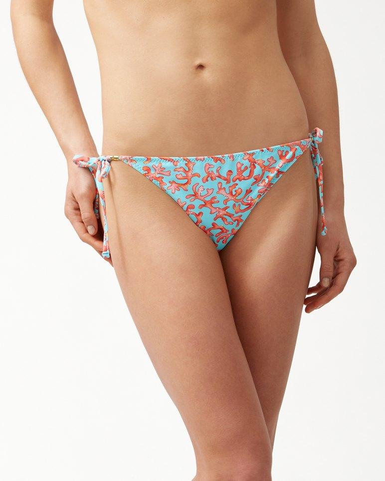 Main Image for Coral Cabana Reversible String Bikini Bottoms