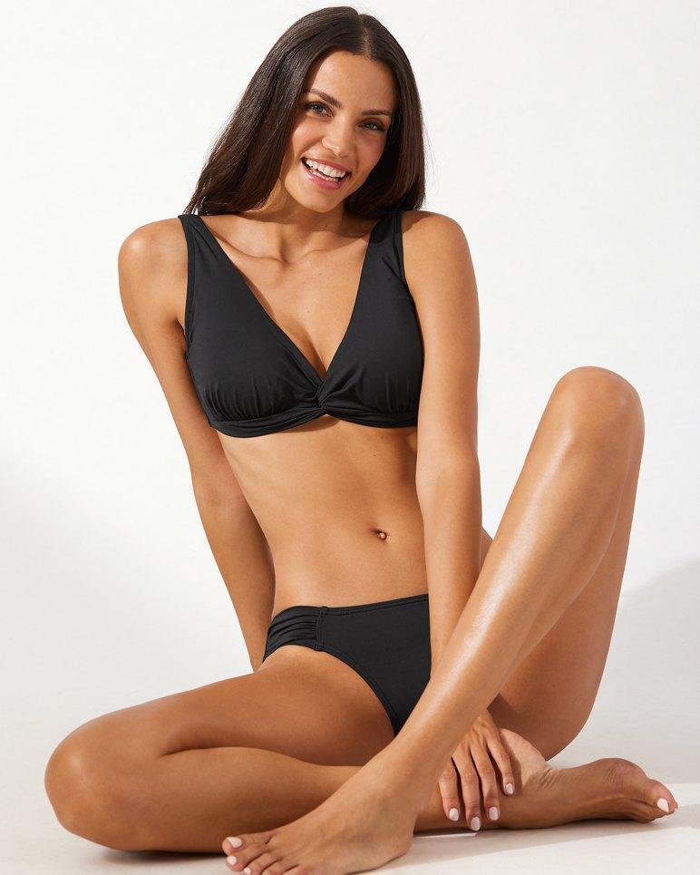 Main Image for Pearl Underwire Twist-Front Bikini Top