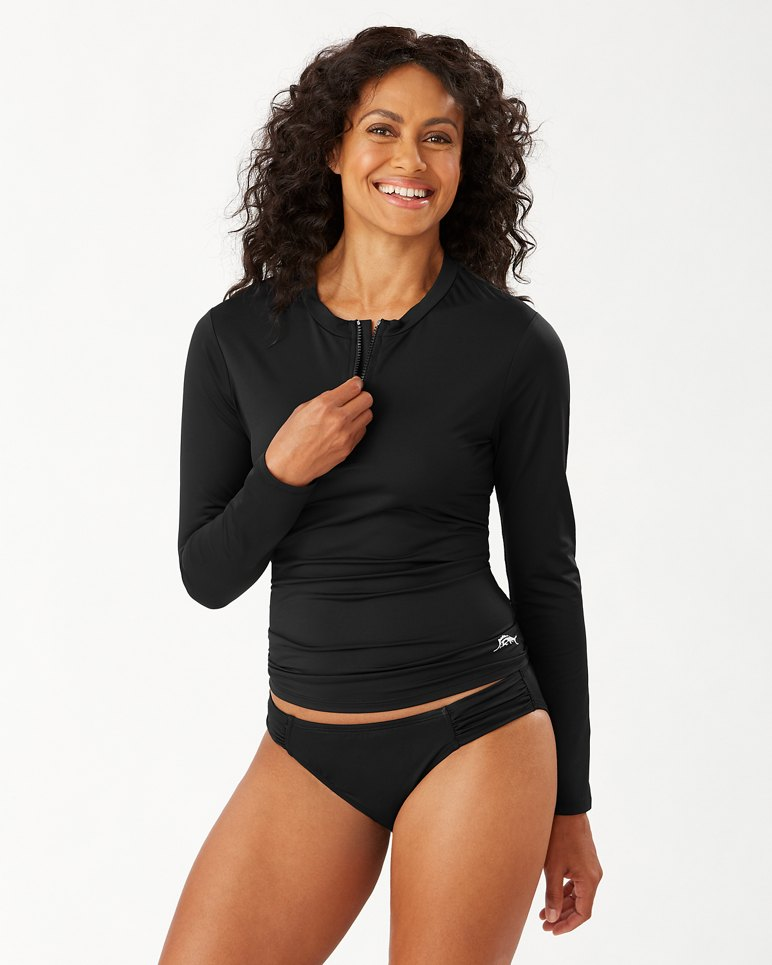 Main Image for Pearl Half-Zip Rash Guard