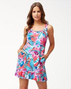 Orchid Groves Swim Dress