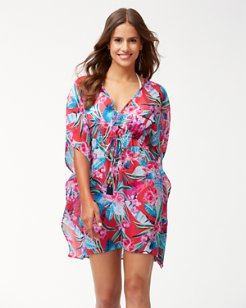 Orchid Groves Drawstring Tunic