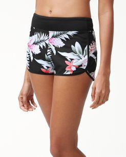 IslandActive® Ginger Flowers Pull-On Short