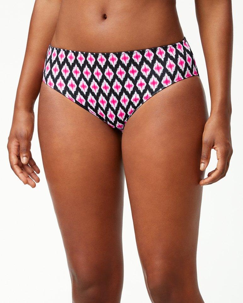 Main Image for Cerise Tiles Reversible High-Waist Bikini Bottoms