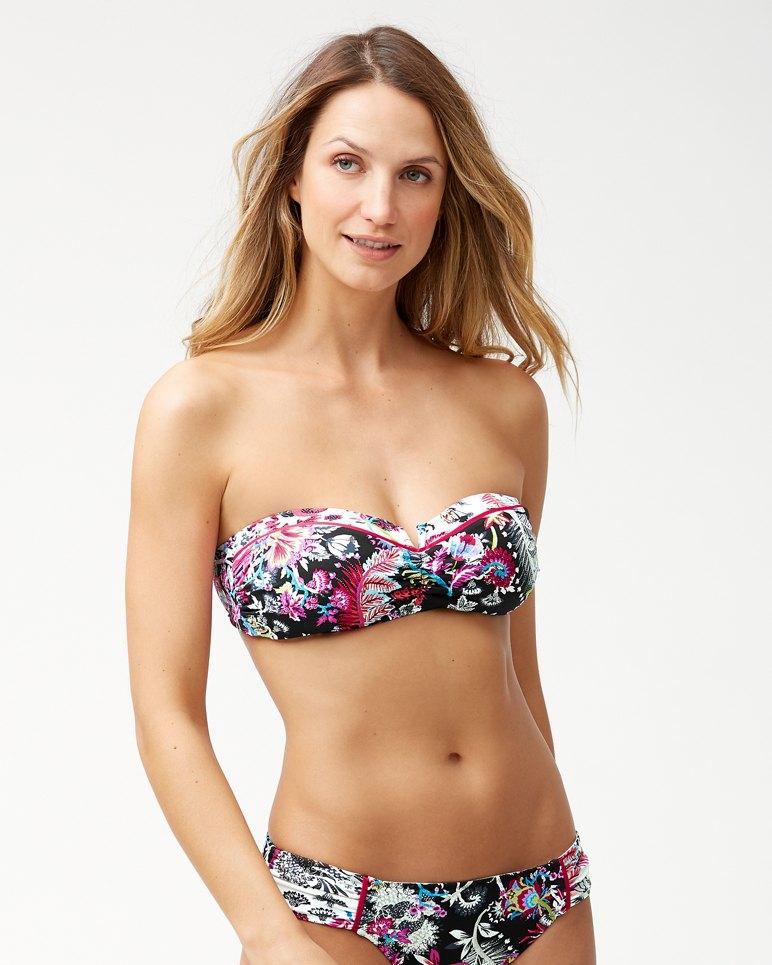 Main Image for Ocean Garden V-Front Bandeau Bikini Top