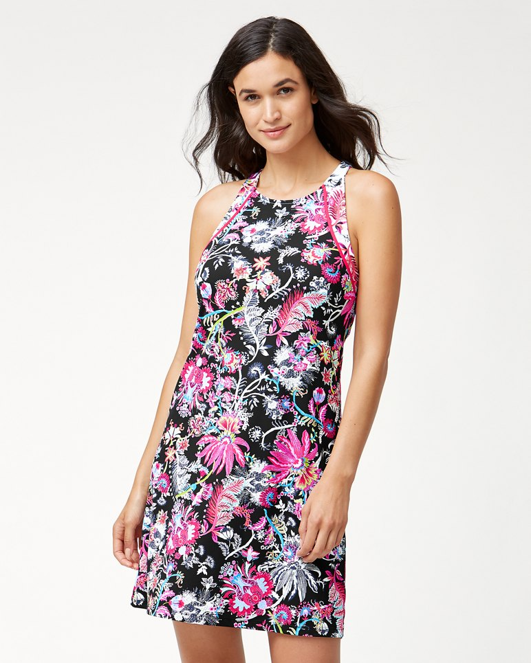 Main Image for Ocean Garden Halter Swim Dress