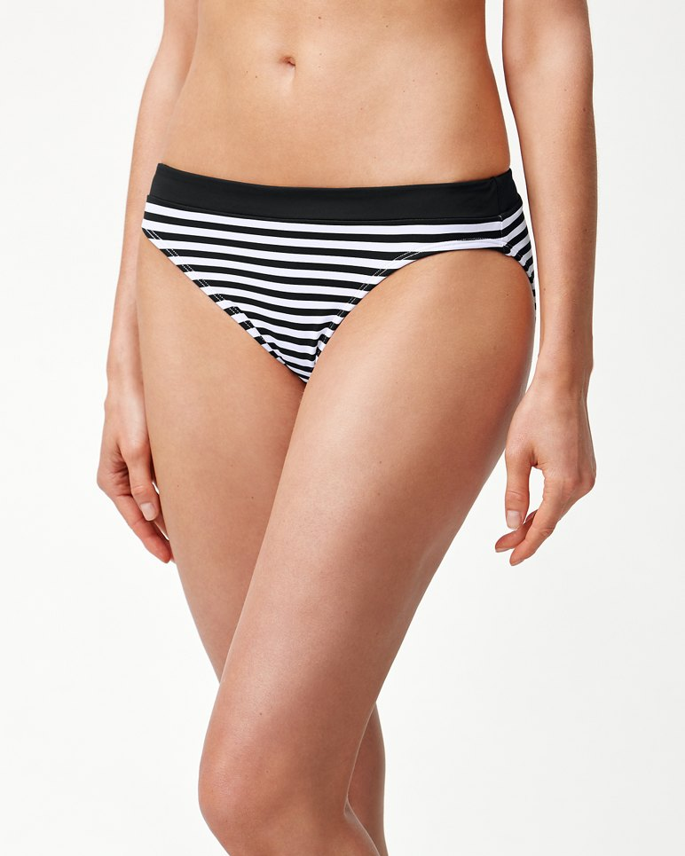 Main Image for Little Stripe Banded Hipster Bikini Bottoms