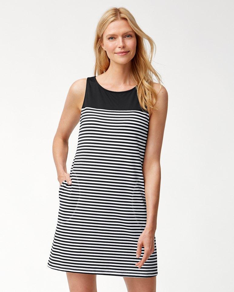 Main Image for Little Stripe Tank Swim Dress
