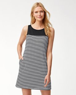 Little Stripe Tank Swim Dress