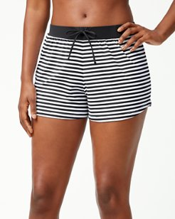 Little Stripe Pull-On Shorts