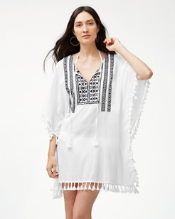 Embroidered Geo Tunic