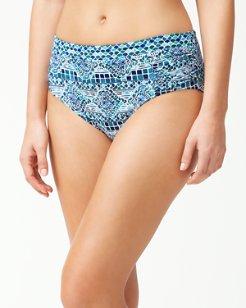Floral Isles High-Waist Bikini Bottoms