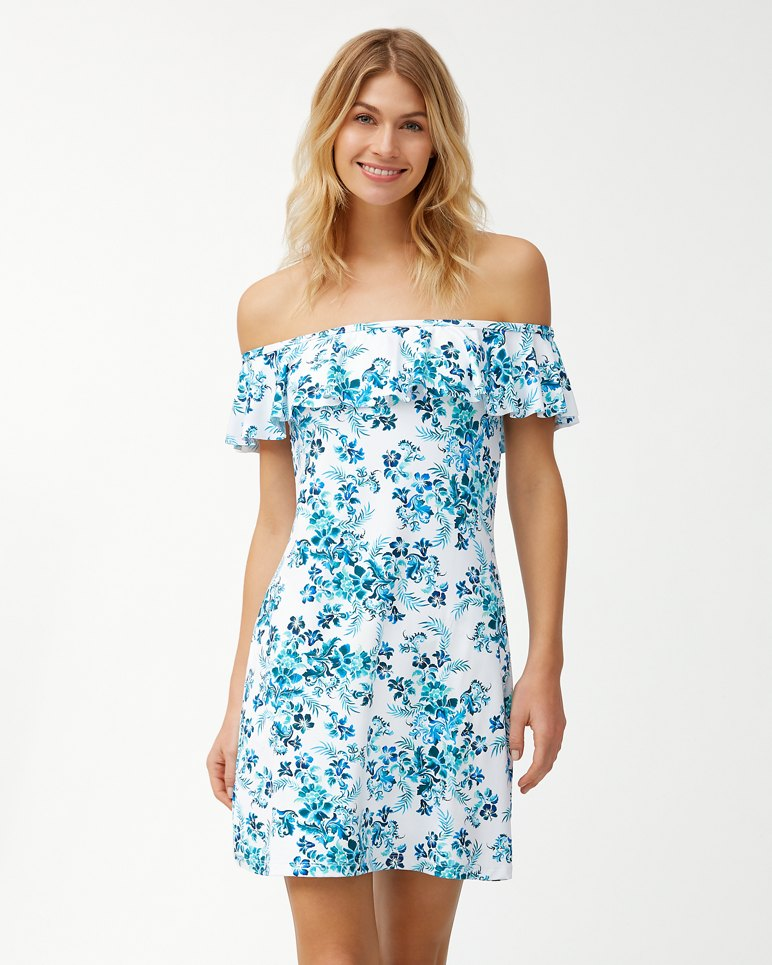 Main Image for Floral Isles Off-The-Shoulder Dress