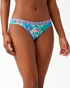 Palm Party Reversible Hipster Bikini Bottoms