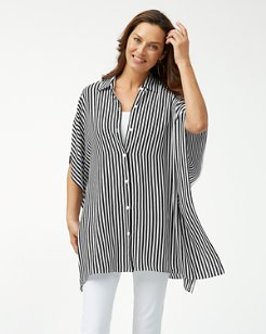 Palm Party Boyfriend Tunic