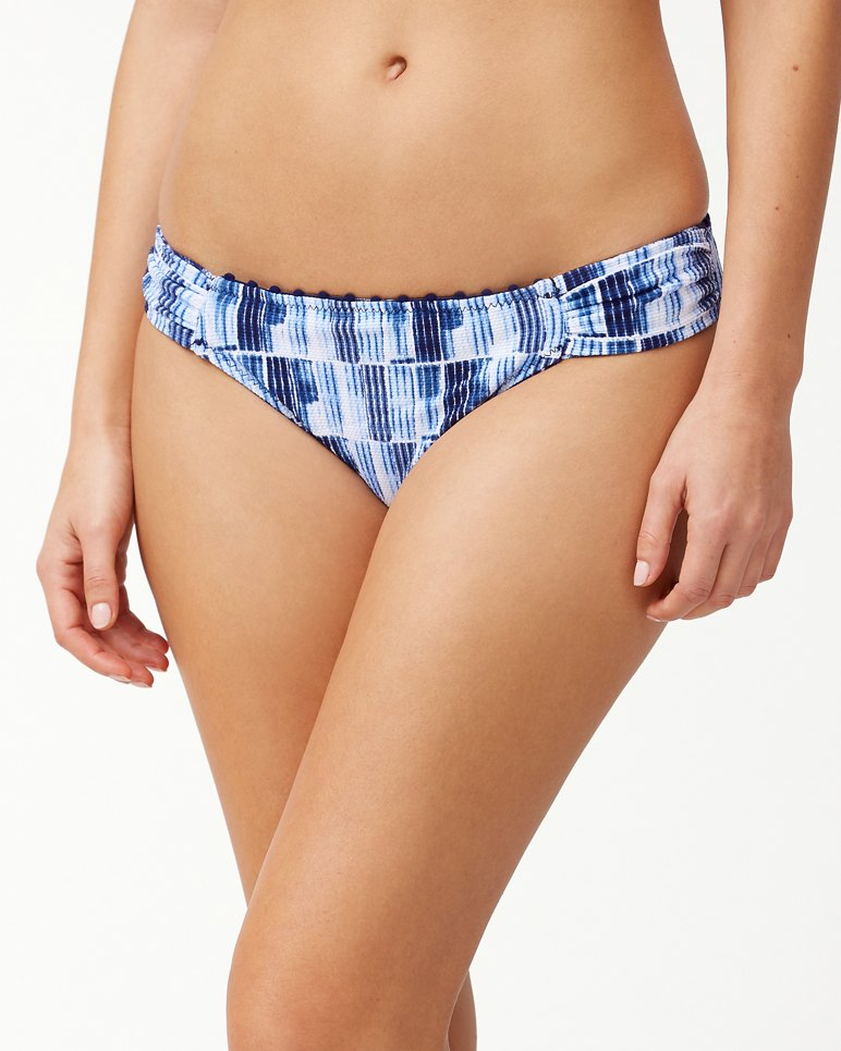 Main Image for Chambray Blossoms Reversible Hipster Bikini Bottoms