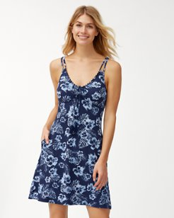 Chambray Blossom Spa Dress