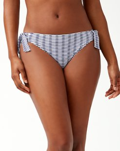 Island Cays Hipster Side-Tie Bikini Bottoms