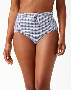 Island Cays High-Waist Bikini Bottoms
