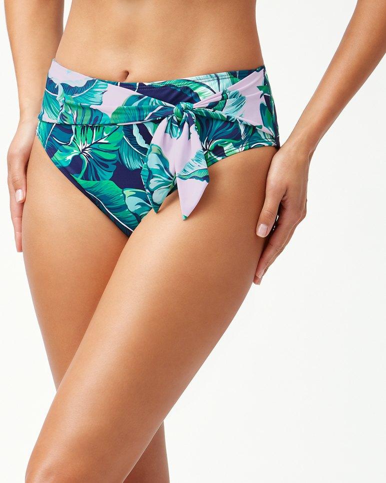 Main Image for Breezy Palms High-Waist Bikini Bottoms
