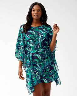 Breezy Palms Belted Tunic