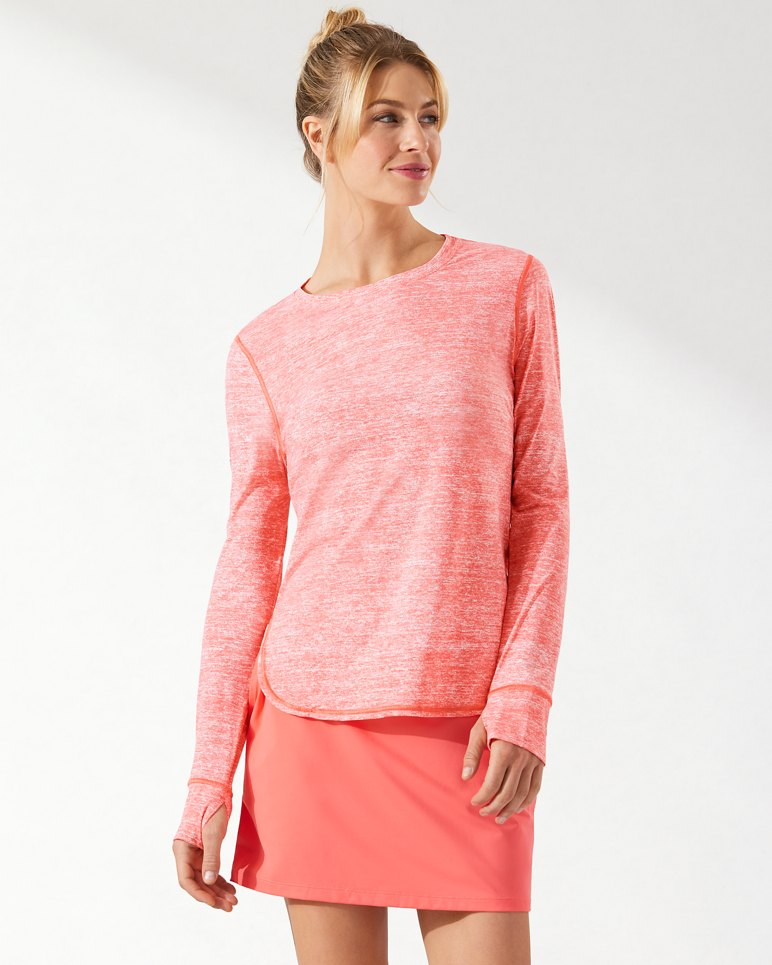 Main Image for IslandActive® Coral Relaxed Long-Sleeve T-Shirt