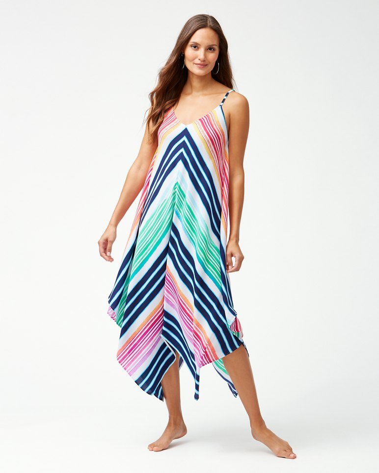 Main Image for Rainbow Chevron Scarf Dress