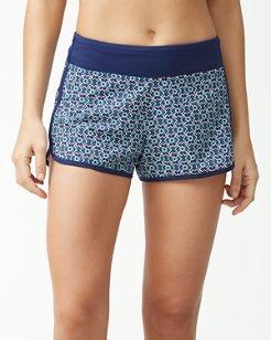 IslandActive® Geo Pull-On Shorts