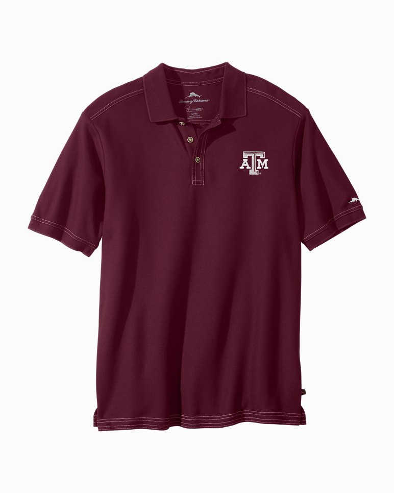 Main Image for Trim Fit Collegiate Emfielder Polo