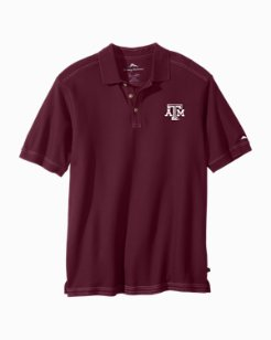 Trim Fit Collegiate Emfielder Polo