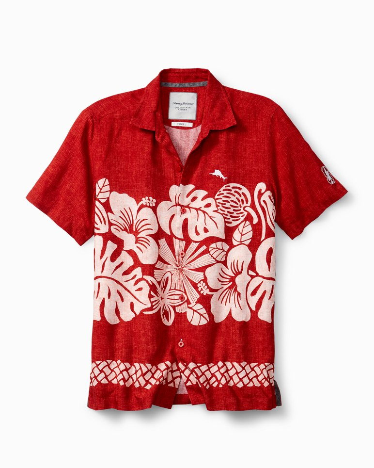 Main Image for Collegiate Tiki Time Trim Fit Camp Shirt