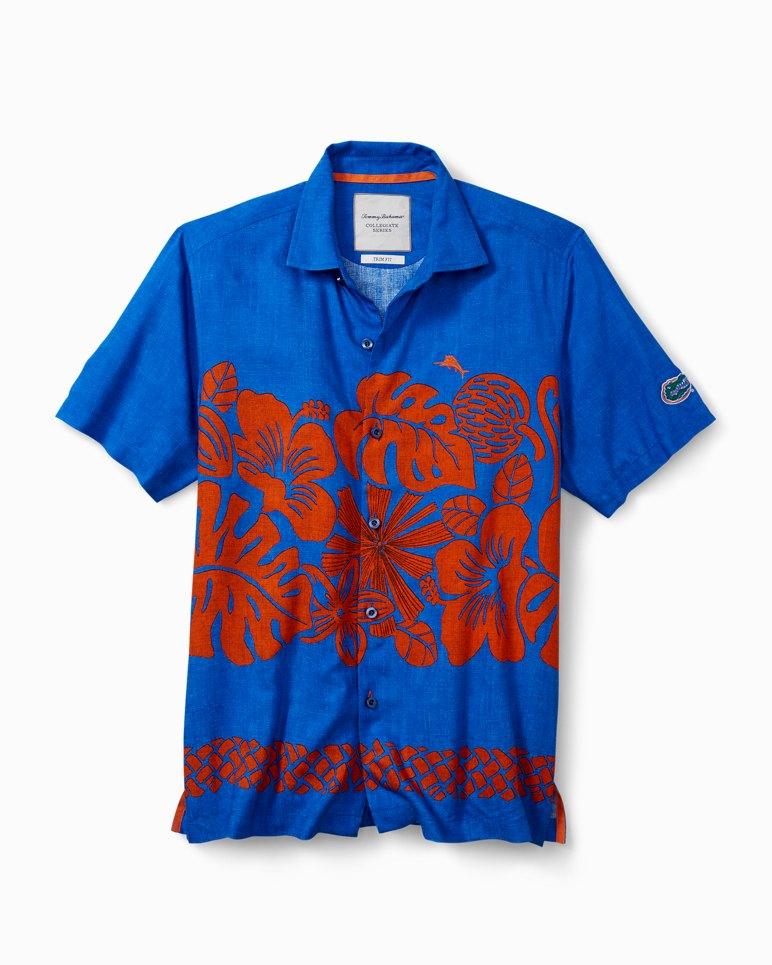 Main Image for Collegiate Tiki Time Trim Fit Camp Shirt