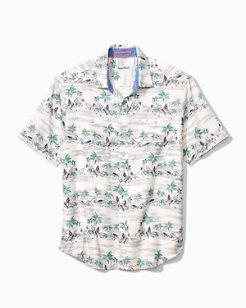 Trim Fit What The Hula Camp Shirt