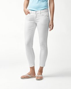 Ana Twill Ankle Jeans